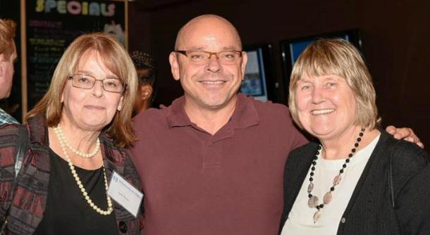 Photo: GAS Faculty past and present: Judy Green, Paul Angelini, and Judith Wintonyk